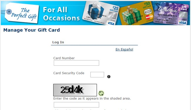 Mygiftcardsite
