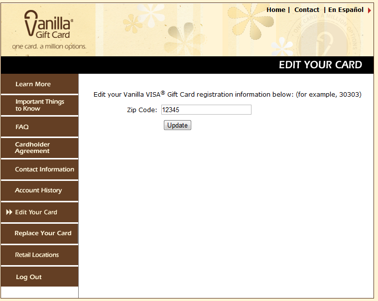 Vanilla Gift Card Login, Registration And Card Activation Procedure
