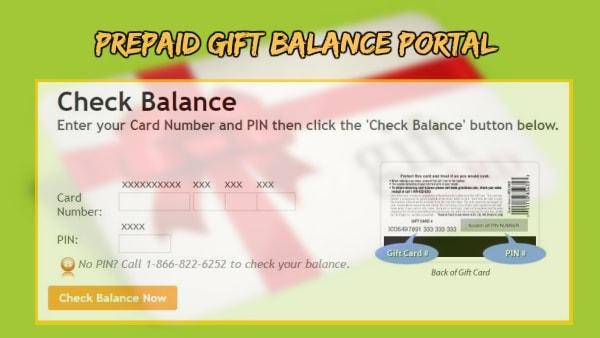 Prepaidgiftbalance